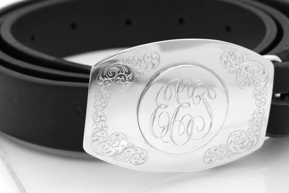 9efc2a573 Custom Monogrammed Belt Buckle