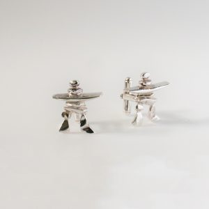 Inuksuk Cuff Links